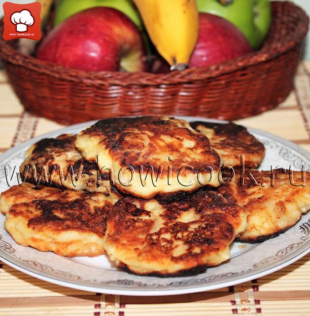 рецепт банановых сырников