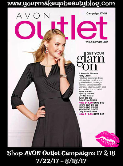 Click on your AVON eBrochure Outlet Get Your Glam On