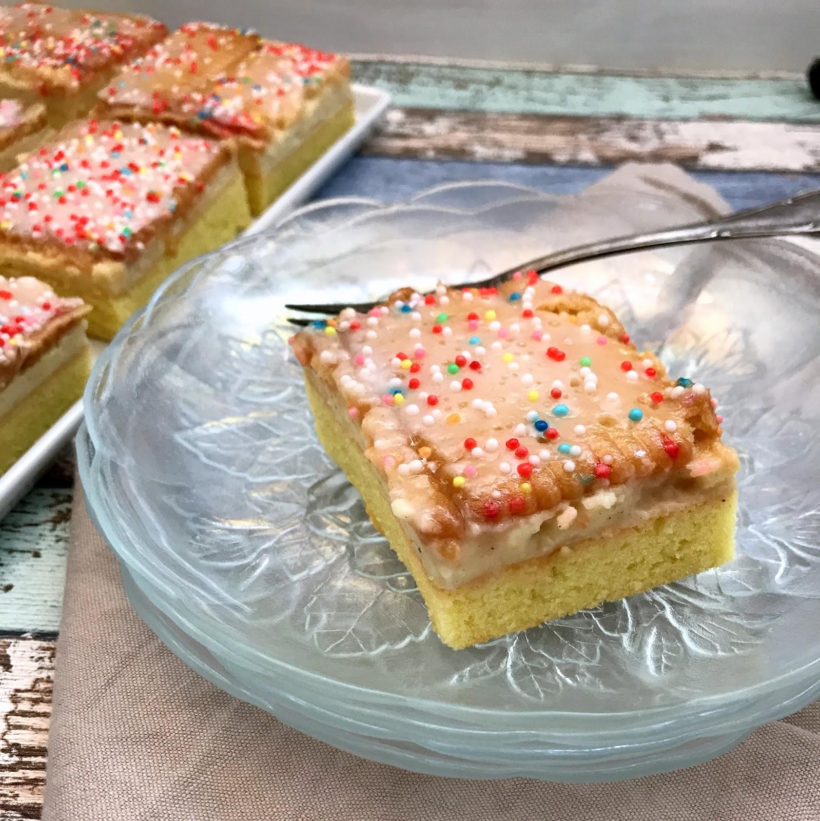 Lanisleckerecke Zitroniger Pudding Keks Kuchen