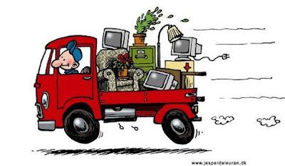 Taşımaya gelen kamyonu inceleyin