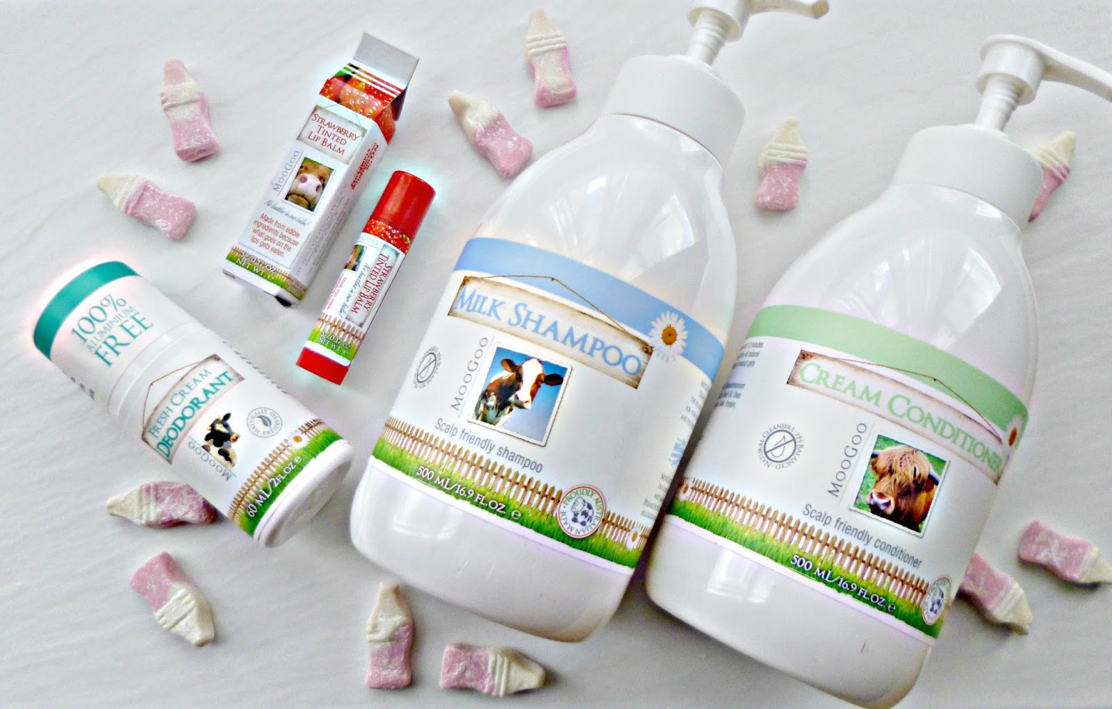The cream of the crop: Moogoo products