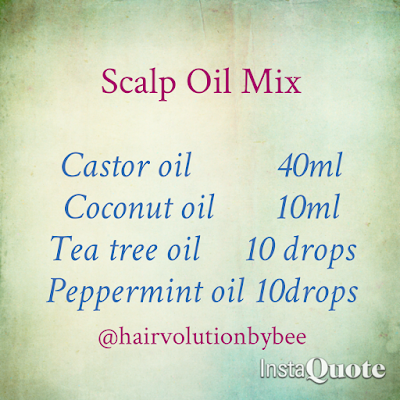 scalp oils