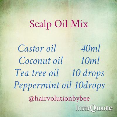 scalp oils