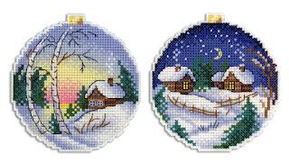 Cross-stitch М.П. Студия Р-331 «Зимние просторы»