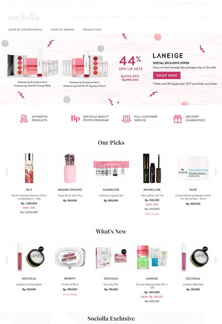 Beauty And Lifestyle 5 Rekomendasi Online Shop Terpercaya