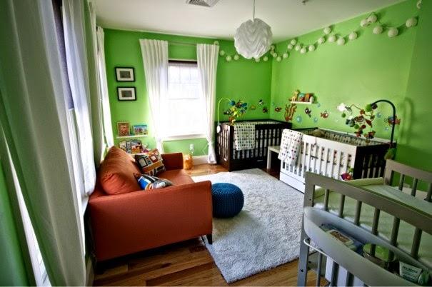 Dormitorios color verde para bebés - Dormitorios colores y ...