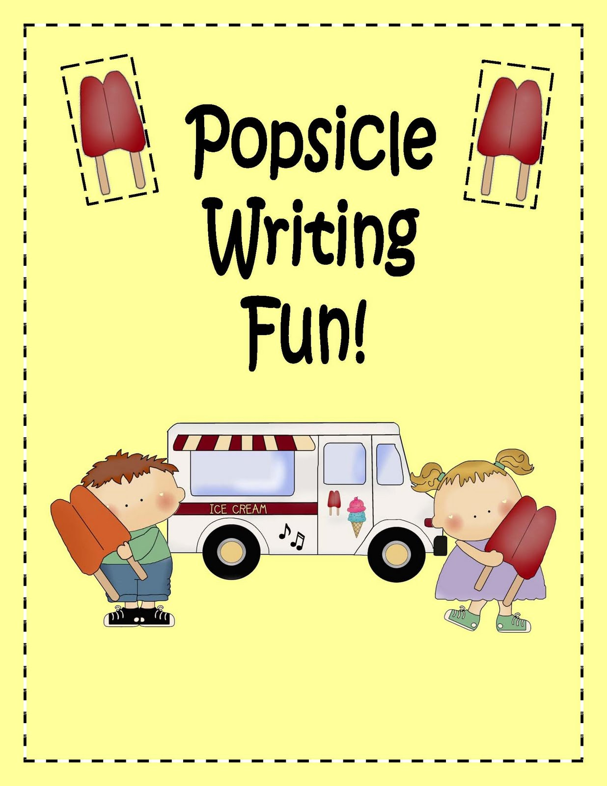 Engaging Lessons And Activities Popsicle Writing Fun And