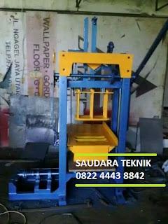 mesin cetak paving dan batako