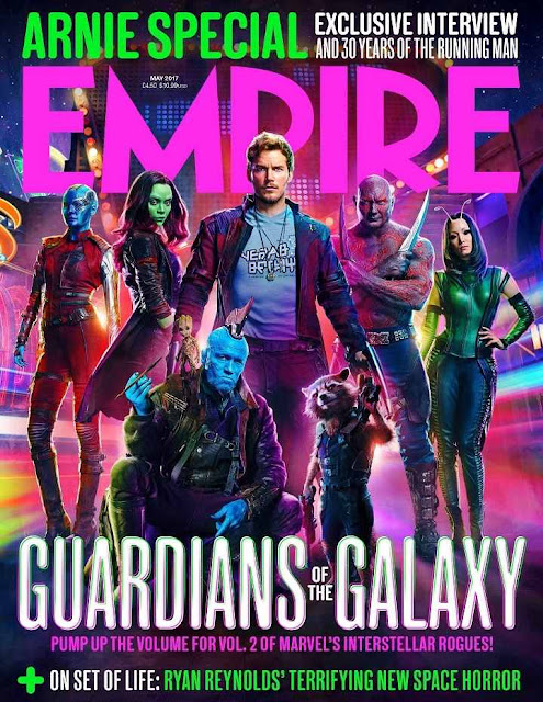 Los Guardianes de la Galaxia en la revista Empire