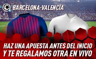 sportium Promo Barcelona vs Valencia 2 febrero 2019