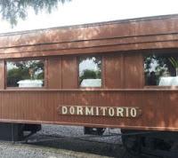 Vagón del restaurante del ferrocarril Colonia