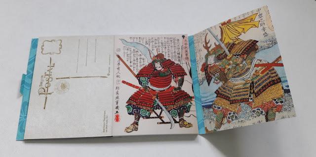 Samuráis (libro de postales) 3