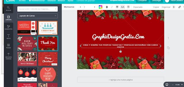 Como hacer tarjetas de navidad gratis