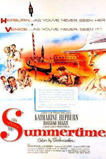 The United Artists poster for the 1955 David Lean film Summertime