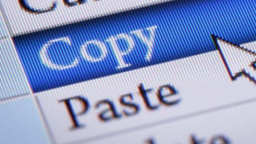 How do I copy and paste in facebook