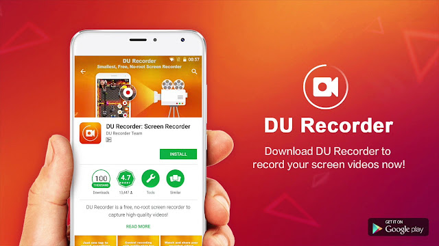 DU Android Screen Recorder Apk Free Download