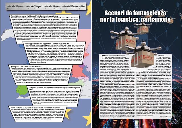 GENNAIO 2019 PAG. 9 - Scenari da fantascienza per la logistica: parliamone