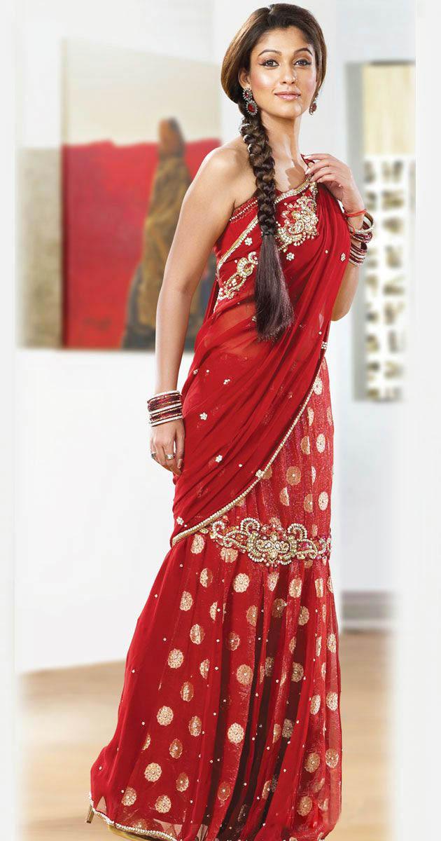 Scandals: 'Nayanthara' Hot Stills In Saree