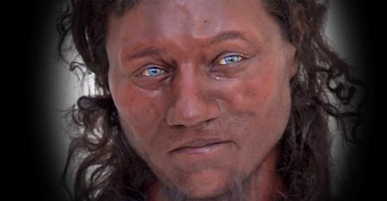 Negro com olhos azuis, 1º britânico era bem diferente do que se imaginava - Capa