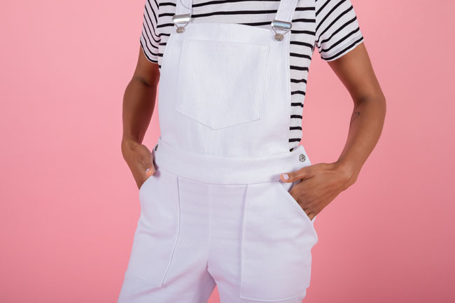 How to add hip pockets to your Mila dungarees! - Tilly and the Buttons