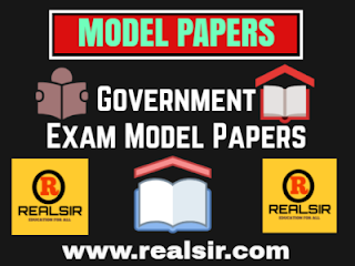 government exam Model Papers