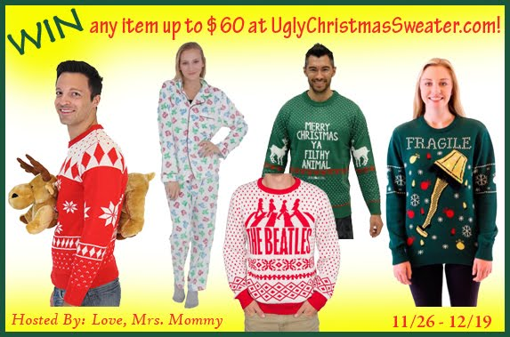 Ugly Christmas Sweater Giveaway