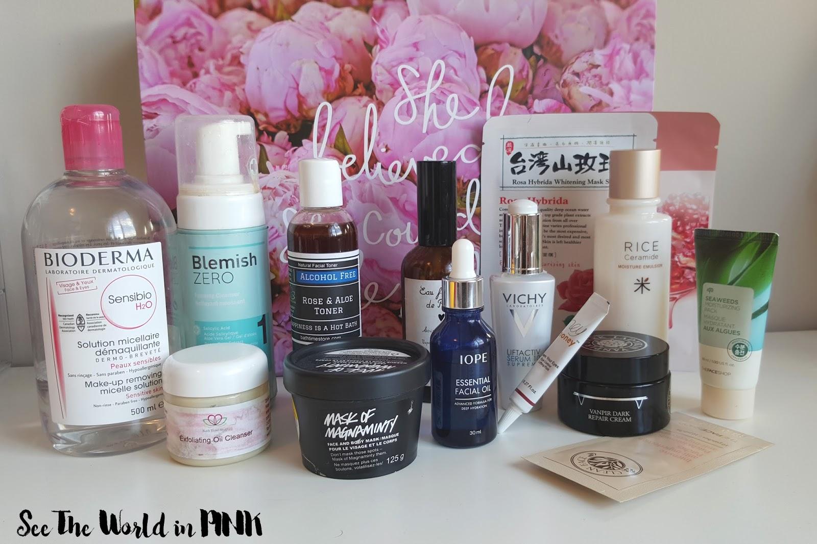 My 13 Step Night Time Skincare Routine