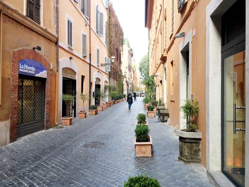 3 Days in Rome - Via Margutta