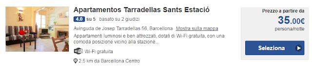 Apartamentos Tarradellas Sants Estació