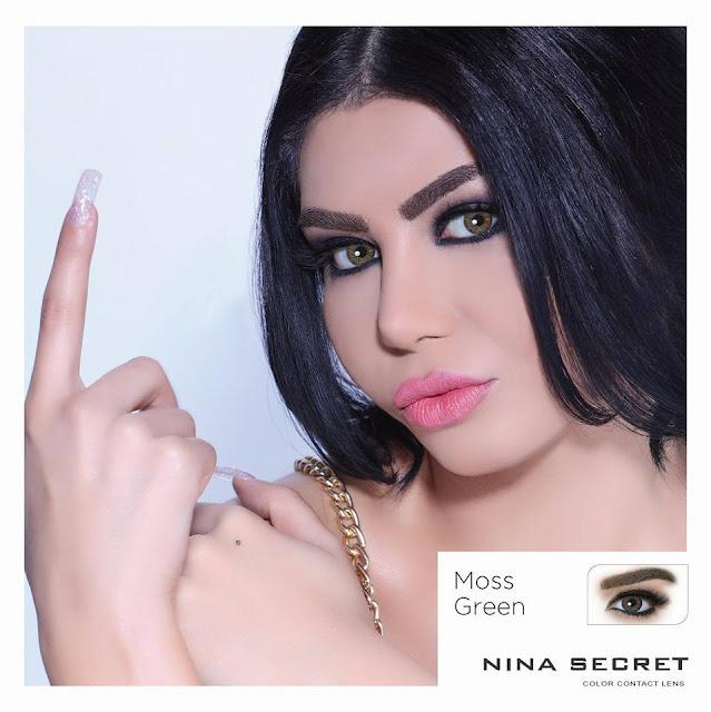 مريم جورج من كواليس تصوير جلسة عدسات Nina Secret Lens - Lebanon الملونة