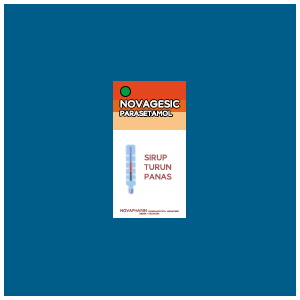 Novagesic : Parasetamol, Sirup Turun Panas Dengan Rasa Strawberry