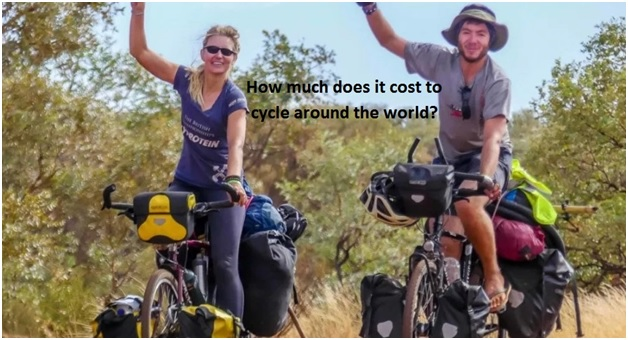 How much does it cost to cycle around the world?