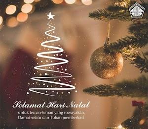 Selamat Hari Natal   25 Desember 2018