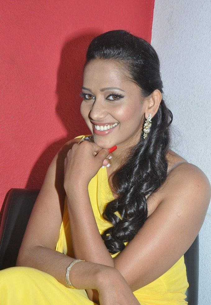Angana Sanjana at Ragalaipuram Movie Press Meet