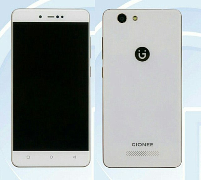 Gionee F106 With Entry Level Specs Certified On TENAA