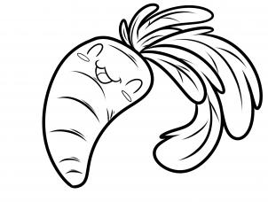 Como Dibujar Una Zanahoria Pero evoluciono a ser una zanahoria :d. como dibujar una zanahoria