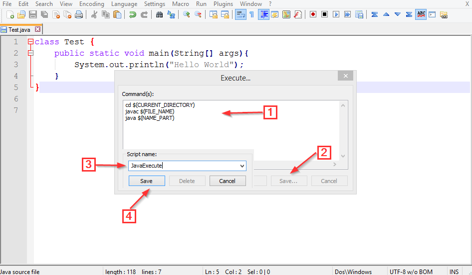Compile and execute Java, C# and PHP from your favourite text ...