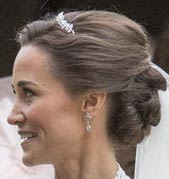 Maidenhair Fern Tiara Pippa Middleton Diamond Robinson Pelham