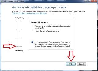 Cara Nonaktipkan UAC atau Uses Account Control di Windows
