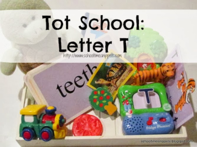 Letter T Toddler Activities
