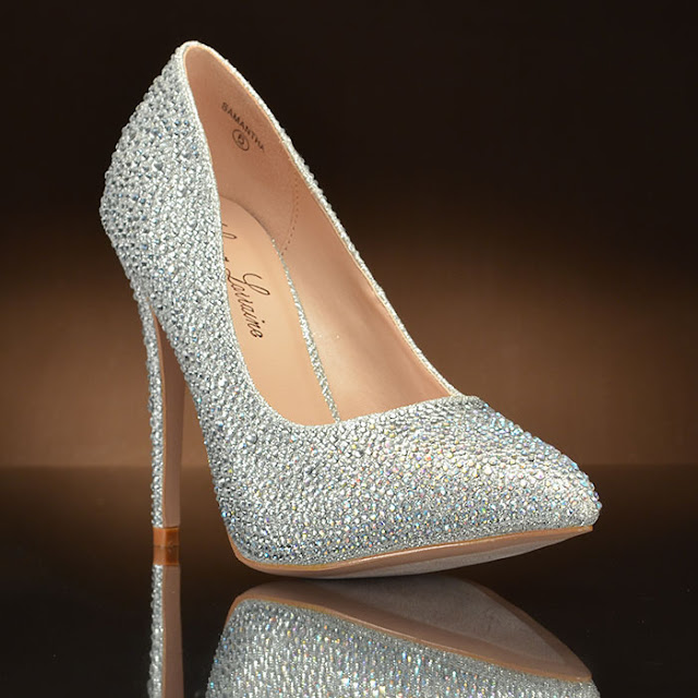 Sparkly Wedding Flats