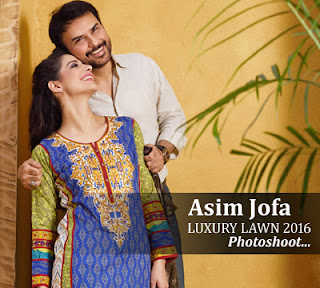 Asim Jofa Luxury Lawn Summer Collection 2016 Photo-shoot!