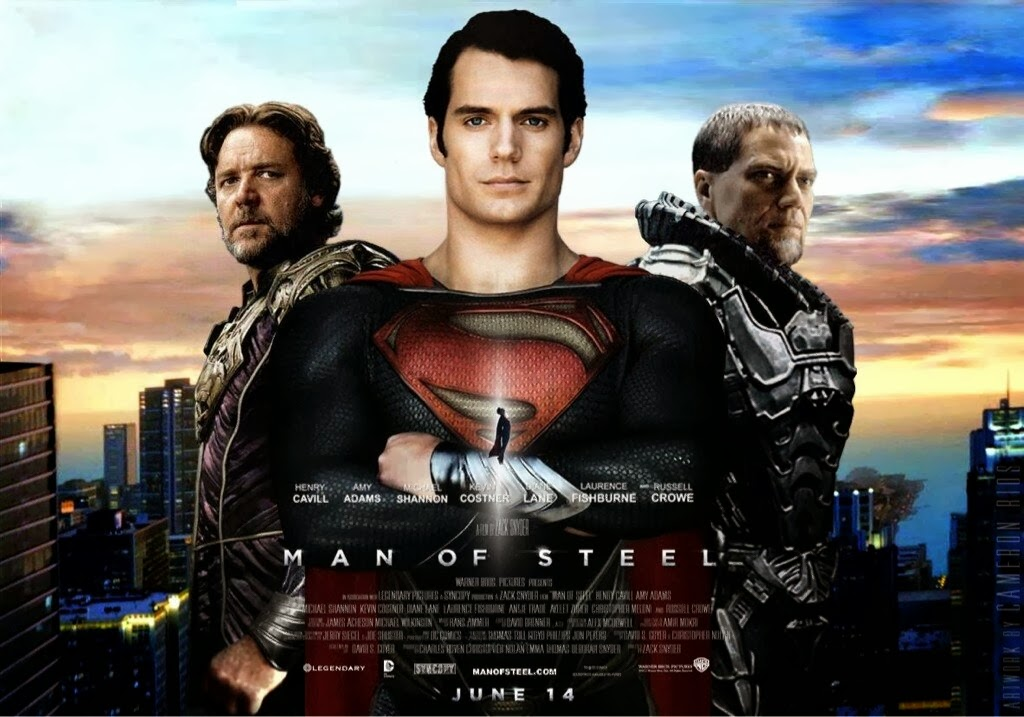 Man of Steel Film terbaik 2013 dan Film Box Office Terlaris Tahun 2013