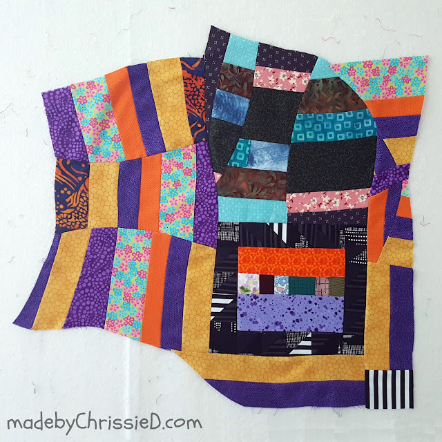Improv Piecing by www.madebyChrissieD.com