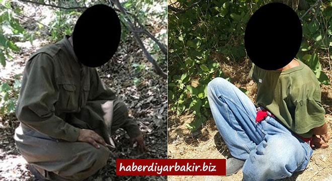 Diyarbakır Kulp'ta 2 PKK'li öldürüldü 2 PKK'li sağ yakalandı