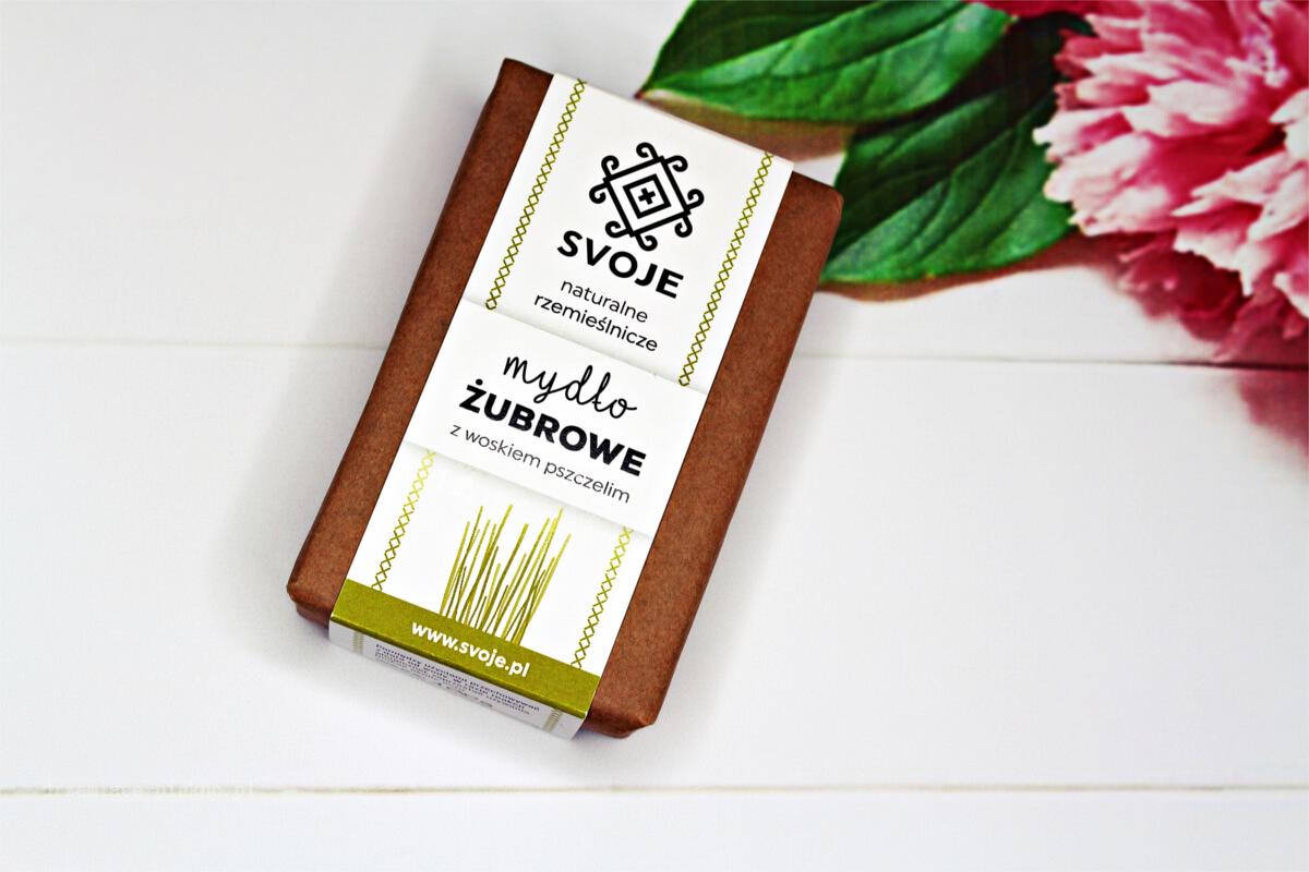 Mydło żubrowe na maceracie z trawy żubrowej - Svoje