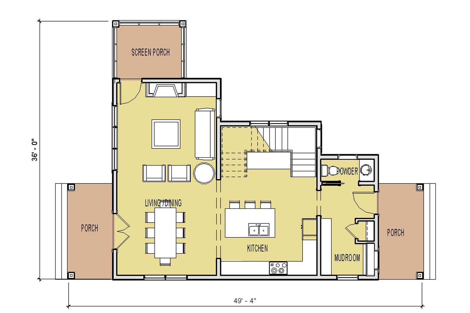Simply elegant home designs blog new unique small house plan Small foursquare house plans