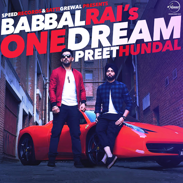 Babbal Rai - One Dream - Single Cover