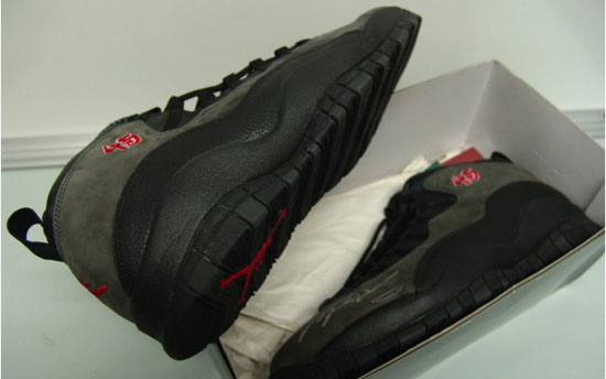 reputable site 8f648 f47cb Shopping Nike Air Jordan 10 Shadows Black Dark Shadow True Red