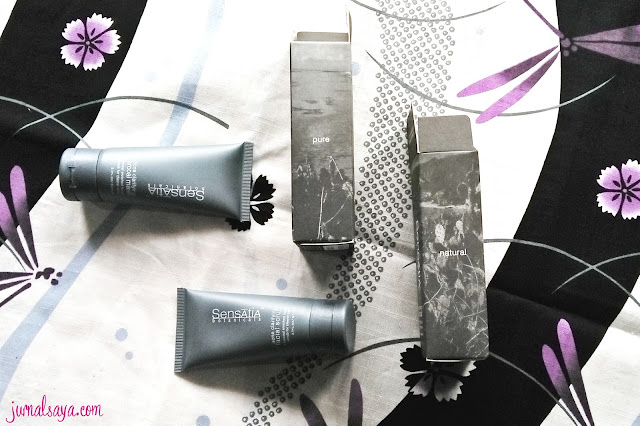 sensatia botanical charcoal mask scrub